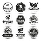 Green Color,Environmental Conservation,Vector,Farm,Biology,Rubber Stamp,Organic,Label,Postage Stamp,Nature