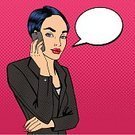 Vector,Women,Human Lips,Talk,Beauty,Fashion,Business,Females,Pop Art,Young Adult,Businesswoman,Corporate Business,Teenage Girls,Spotted,Human Face,Modern,Beautiful,Backgrounds,One Person,Elegance,Mobile Phone,Lifestyles,Speech,Talking,Smart Phone,Telephone,Characters,Cartoon,Comic Book,Humor,Style,Halftone Pattern,People,Portable Information Device,Girls,Communication,Manager,Occupation,Success,Bubble