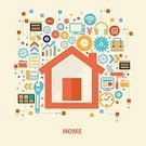 Abstract,Vector,Home Ownership