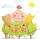 Baby,Young Animal,Drawing - Art Product,Cheerful,Illustration,Fun,Cartoon,Childhood,Vector,Humor,hand drawn,Happiness,Group Of People,Art,Backgrounds,Vibrant Color,Cloudscape,Sky,Design,Isolated,Wildlife,Tree,Sun,Bear,Kid Goat,Characters,Childishness,Fox,Friendship,Teddy Bear,Bird,Animal,Multi Colored,Child,Smiling,Group Of Animals,Text,Cute,Cloud - Sky,Computer Graphic,Watercolor Painting,Nature,White,Color Image