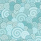 Seamless,Spiral,Pattern,Backgrounds,Swirl,Blue,Modern,Vector Backgrounds,Illustrations And Vector Art
