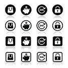 Workshop,Retail,Shopping,Store,Symbol,Vector