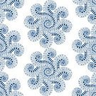 Shape,Illustration,Decor,Retro Styled,Swirl,Blue,Symmetry,Ornate,Decoration,Circle,Vector,Abstract,Backgrounds,Pattern,Seamless,Mandala