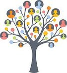 Branch,Community,Friendship,Circle,Family,Communication,Support,Organization,Tree,Social Issues,Men,Abstract,Silhouette,People,Leaf,Assistance,Women,Team,Connection,Shoulder,Partnership