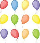 Concepts,Carnival,Multi Colored,Air,Levitation,Joy,Collection,Traditional Festival,Helium,Colors,Set,Mid-Air,Party - Social Event,Decoration,Backgrounds,Event,Circle,Cartoon,Illustration,Celebration,Birthday,Isolated,Vector,Balloon