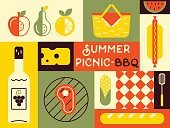 Symbol,Picnic,Creative Design,Food,Fun,Blanket,fresh fruit,Backgrounds,Summer,template,Rug,Red,Weekend Activities,Basket,Grilled,Vector,Rural Scene,Wine Bottle,Backdrop,Computer Graphic,Retro Poster,Pattern,Invitation,Lunch,Meat,Outdoors,Grass