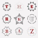 template,Ornate,Wedding,Elegance,Luxury,Calligraphy,Letter R,Grace,Computer Graphic,Boutique,Sparse,Coat Of Arms,Letter H,Letter K,Text,Royalty,Label,Decor,Insignia,Vector