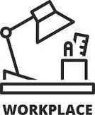 Office Supply,Pencil,Table,Occupation,Sign,Electric Lamp,Desk,Symbol,Flat,Single Line,Office,Business
