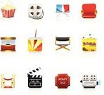 Symbol,Movie,Satin,Icon Set,Popcorn,Series,Director's Chair,Film Projector,Roped Off,Red Carpet,Ticket Stub,Ticket,Candy,Stage Theater,Film Industry,Box Office,3-D Glasses,Clapboard,Movie Ticket,Camera - Photographic Equipment,Chocolate Candy,Film Slate,Film Reel,Snack,Drink,Soda,Camera Film,Clip Art,Modern,Cola,Arts And Entertainment,Theatre,Illustrations And Vector Art,Movie Icon,Cinema,Vector Icons,Movie Icons