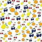 Grapefruit,Illustration,Pineapple,Nature,Food,Organic,Fruit,Seamless Pattern,Decoration,Drawing - Activity,Vegetarian Food,Backgrounds,Vector,Multi Colored,Pattern,Yellow