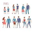 Vector,Characters,People,Child,Family,Casual Clothing,Teenager,Flat,Group Of People,Boys,Old,Retirement,Females,Mother,Human Age,Friendship,Married,Pair,Sideways Glance,Lifestyles,Adult,Girls,Set,Women,Men,University,Clothing,Beard,Bonding,Collection,Cartoon,Illustration,Style,Couple - Relationship