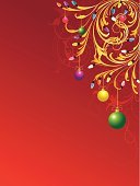Christmas Lights,Christmas,filigree,Swirl,Purple,Green Color,Blue,Gold Colored,Holiday,Red,Scroll Shape,Light Bulb,Old-fashioned,Yellow,Retro Revival,Holidays And Celebrations,Christmas,Holiday Backgrounds,Vector Backgrounds,Illustrations And Vector Art,Empty,No People,Copy Space,Ornate,Blank,Vertical