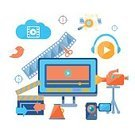 Symbol,Industry,Computer,Playing,No People,Group of Objects,Clip Art,Computer Graphic,Multi Colored,Vector,Clapping,Bird,Sharing,Collection,Illustration,Posing,Camera - Photographic Equipment,Twitter,Downloading,Countdown,Internet,Backgrounds