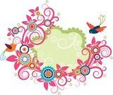 Flower,Bird,Vector,Frame,Floral Pattern,Single Flower,Bird's Nest,Tree,Swirl,Animal Nest,Mothers Day,Backgrounds,Love,Animal,Summer,Ilustration,Springtime,Plant,Multi Colored,Abstract,Design,Curve,Flying,Nature,Ornate,Design Element,Loving,Decoration,Modern,Bush,Beautiful,Spiral,Branch,Season,Beauty In Nature,Message,Blossom,Pigeon,Bouquet,Curled Up,Dove - Bird,Letter,Decor,Copy Space,Design Objects,nidify,Isolated On White,Tree Trunk