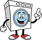 Vector,Cartoon,Laundry,Illustration,Talking,Gesturing,Pointing,Housework,House,Appliance,Washing,Cleaning,Rag,Laundry Detergent,Clothing,Washing Machine