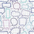Pattern,Speech,Backgrounds,Doodle,Abstract