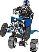 Off-Road Vehicle,Quadbike,Motorcycle,Sports Race,Motorsport,Work Helmet,Jumping,Mud,Recreational Pursuit,Sand,Extreme Sports,Transportation,Illustrations And Vector Art,Leisure Activity,Sports And Fitness