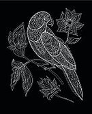 Animal,Illustration,Nature,Bird,Black And White,Ornate,Doodle,Feather,Decoration