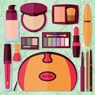 Vector,Set,Moving Up,Collection,Beauty Product