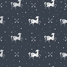 Pattern,Seamless,Animal,Black Color,Silver Colored,Mascot,Horse,Spotted
