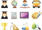 Symbol,Computer Icon,Religious Icon,Education,Student,Icon Set,Trophy,Learning,Science,Art,Paint,Reading,Classroom,Graduation,Mathematics,Book,Paintbrush,Ruler,Chemical,Scientific Experiment,Medical Test,School Bus,Chemistry,Drawing - Activity,Calculator,Leaf,Magnifying Glass,Ilustration,Laptop,Globe - Man Made Object,Biology,Physical Geography,Pencil Drawing,Vector Icons,Objects/Equipment,Chemistry Class,Concepts And Ideas,web icon,Illustrations And Vector Art