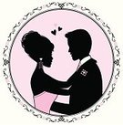 Love,Frame,Circle,Femininity,Silhouette,Heterosexual Couple,Profile View,Cartoon,Men,Women,Male,Vector,Elegance,Teenage Girls,Valentine's Day - Holiday,Romance,Pink Color,Beauty,Cute,Loving,Togetherness,Embracing,Dating,Glamour,Bonding,Male Beauty,Ilustration,Suit,Desire,Two People,Female,Relationships,Vector Cartoons,People,Flirting,Characters,Illustrations And Vector Art,Lifestyle