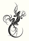 Tattoo,Lizard,Indigenous Culture,Design,Pattern,Animal,Reptile,Black And White,Black Color,White,Body Adornment,Symbol,Silhouette,Ilustration,Drawing - Art Product,Ink,Curve,Art Product,Vertical,Single Object,Isolated On White,Animals And Pets,Vector Ornaments,Illustrations And Vector Art,Isolated Objects,Reptiles,Isolated-Background Objects