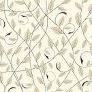 Pattern,Seamless,Leaf,Backgrounds,White,Floral Pattern,Black Color,Repetition,Modern,Abstract,Elegance,Fragility,Branch,Nature,Growth,Plant,Beauty,Wallpaper Pattern,Part Of,Stem,Ornate,Illustrations And Vector Art,Nature,Nature Backgrounds,Vector Florals