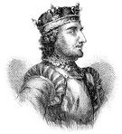 King,Medieval,Illustration Technique,Knight,Drawing - Art Product,Crown,Steven,Norman Style,Royalty,Ilustration,Middle Ages,Portrait,Etching,Profile View,Royal Person,UK,Old-fashioned,Fine Art Portrait,Antique,English Culture,Leadership,Art,Statue of St Stephen,One Person,British Culture,Engraved Image,Circa 12th Century,England,Power,Illustrations And Vector Art,Vertical,Concepts And Ideas,History,The Past,People,Lords,St. Edward's Crown,Circa 11th Century