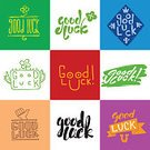 Greeting,Text,Luck,Positive Emotion,Illustration