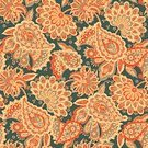 No People,Flower,Old-fashioned,Ornate,Illustration,Seamless Pattern,Decoration,Backgrounds,Vector,Paisley Pattern,Pattern,Floral Pattern