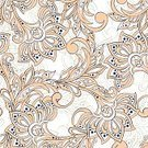 Old-fashioned,Backgrounds,Seamless,Vector,Batik,Pattern,Floral Pattern,Decoration,Paisley Pattern