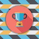 Canine,Animal,Puppy,Purebred Dog,Cup,Cute,Pets,Dog,Winning,Vector,Champions League Trophy,Trophy,Dog Show,Dog Racing,Illustration