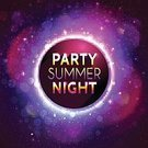 Backgrounds,Vector,Night,Summer,Neon Color,Neon Light,Multi Colored,Flyer,Party - Social Event,Nightclub