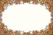 Frame,Ornate,Antique,Gold Colored,Gold,Scroll Shape,Decoration,Victorian Style,Retro Revival,Old-fashioned,Elegance,Vector,Swirl,Design Element,No People,Spiral,Vector Ornaments,Illustrations And Vector Art,Vector Backgrounds