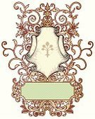 Decoration,Banner,Antique,Victorian Style,Frame,Swirl,Ornate,Gold,Scroll Shape,Retro Revival,No People,Gold Colored,Old-fashioned,Illustrations And Vector Art,Design Element,Vector,Spiral,Elegance