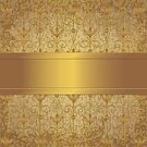 Metallic,Abstract,Textured,Metal,Elegance,Backgrounds,Shiny,Gold Colored,Luxury,Illustration,Vector,Floral Pattern,Antique,Ornate,Ribbon,Old-fashioned,Wallpaper Pattern
