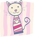 Domestic Cat,Cute,Love,Human Face,Animal,Animated Cartoon,Animal Heart,Heart Shape,Pattern,Kitten,Ilustration,Vector,Computer Graphic,Pink Color,Abstract,Drawing - Art Product,Human Lips,Fashion,Shape,Cheerful,Funky,Beautiful,Small,Characters,Wallpaper Stripper,Blue,Image,Decoration,Clip Art,Happiness,Purple,Digitally Generated Image,Smiling,Multi Colored,Pets,Tranquil Scene,Emotion,Fun,Domestic Animals,Romance,Textured Effect,Style,Painted Image,Baby Animals,Animals And Pets,Mammal,Cats,Feline