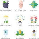 Acupuncture,Aromatherapy,Women,Ayurveda,People,Medicine,Environment,Practicing,Homeopathic Medicine,Outline,Alternative Medicine,Cultures,Recovery,Research,Nature,Yoga,Medical Exam,General Practitioner,Symbol,Sign,Vector,Chiropractic Adjustment