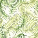 Tranquil Scene,No People,Tropical Climate,Plant,Palm Tree,Summer,Illustration,Leaf,Banana,Seamless Pattern,Decoration,Botany,Hawaiian Culture,Backgrounds,Pastel Drawing,Vector,Pattern,Floral Pattern,Green Color