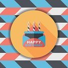 Birthday Cake,Postcard,Hand-lettering,Birthday Card,Happy Birthday Card,Greeting,Typescript,Birthday,Vector,Celebration,Invitation,Decoration,Illustration