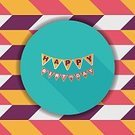 Celebration,No People,Anniversary,Ornate,Illustration,Computer Icon,Birthday,Decoration,Flag,Confetti,Decor,Vector