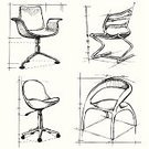 Furniture,Sketch,Design,Office Interior,Chair,Indoors,Modern,Home Decorating,Armchair,Backgrounds,Industry,Home Interior,Pencil Drawing,Futuristic,Ilustration,Vector,Decoration,Design Element,Isolated,Seat,Creativity,Art,Style,Architecture Backgrounds,Architectural Detail,Architecture And Buildings,Isolated-Background Objects,Isolated Objects