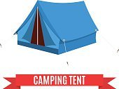 House,Symbol,Summer,Nature,Art,Cartoon,Design,Tourism,Exploration,Concepts,Sunshade,Vacations,Rope,Vector,Illustration,Roof,Adventure,Powder Compact,Open,Blue,Journey,Equipment,Camping,Travel,Isolated,Outdoors,Tourist,Single Object,Tent