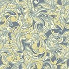 Abstract,No People,Ornate,Illustration,Swirl,Seamless Pattern,Decoration,Backgrounds,Pattern,Floral Pattern