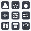 Shape,Token,Label,Symbol,Badge,Application Software,Paying,Calendar,Vector,Sign,Event,Tree,Wireless Technology,Pager,Celebration,Gift,Winter,Year,Humor,Christmas