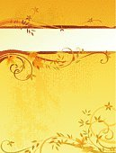 Backgrounds,Flower,Autumn,Floral Pattern,Frame,Single Flower,Orange Color,Invitation,Leaf,Vector,Grunge,Swirl,Gold Colored,Yellow,Abstract,Retro Revival,Tree,Pattern,Scroll Shape,Ornate,1940-1980 Retro-Styled Imagery,Old-fashioned,Textured,Single Line,Oak,Nature,Poster,Plant,Branch,Color Gradient,Grass,Maple,Textured Effect,Oak Tree,Spotted,Curled Up,Copy Space,Scratched