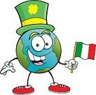 81352,62990,Humor,Celebration,Republic of Ireland,Flag,Globe - Man Made Object,St. Patrick's Day,Sphere,Circle,Irish Culture,Planet - Space,Fun,Irish Flag,Clover,Illustration,Cartoon,Vector,Holiday - Event,Single Object,Planet Earth,Clip Art,Shoe,Hat,Smiling,Top Hat