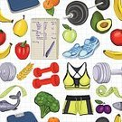 Healthcare And Medicine,Sport,Exercising,Health Club,Eating,Straight,Computer Icon,Textured Effect,Textile,Wallpaper,Symbol,Apple - Fruit,Sports Shoe,Pepper - Vegetable,Cabbage,Relaxation Exercise,Swing Dancing,Pepper - Seasoning,Pear,Set,Orange Color,Weight Scale,Fish,Paper,Lifestyles,Doodle,Healthy Lifestyle,Gym,Food,Seamless,Backgrounds,Wrapping Paper,Book Cover,Banner,Poster,Dumpbell,Pattern,Pepper Shaker,Broccoli,Plum,Cultures,Avocado,Prepared Fish,Watercolor Painting,Simplicity,Orange - Fruit,Note Pad,Fashion