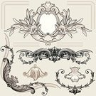Decoration,Corner,Architecture,Ornate,Frame,Scroll Shape,Victorian Style,Floral Pattern,Antique,Classic,Growth,Design,Design Element,Pattern,Old-fashioned,Computer Graphic,Abstract,Set,Classical Style,Vector,Ancient,Cartouche,Style,Brown,Leaf,1900,Black Color,Swirl,Blossom,Decor,Deco,Ilustration,Spiral,Symmetry,Vignette,Collection,Cultures,Beautiful,Creativity,Petal,Architectural Detail,Vector Ornaments,Arts Abstract,Arts And Entertainment,Illustrations And Vector Art,Architecture And Buildings